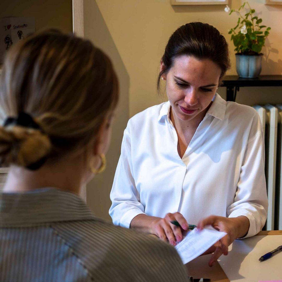 entrevista con paciente