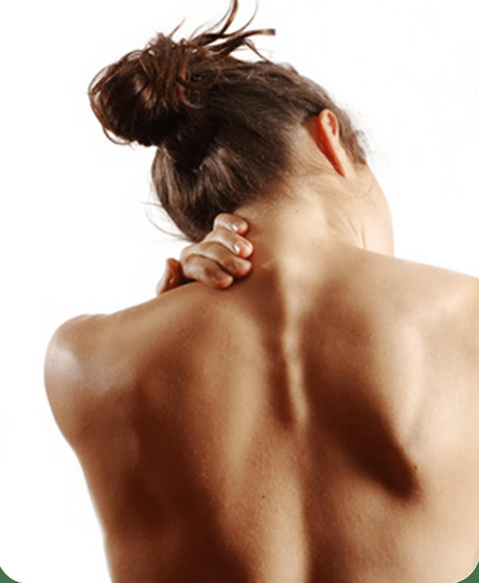 sintomas del dolor de cuello